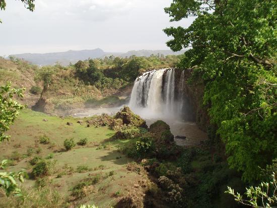 Amhara Region, Etiopía: chutes du Nil bleu-2