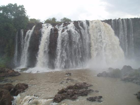Amhara Region, Etiopía: chutes du nil bleu-3