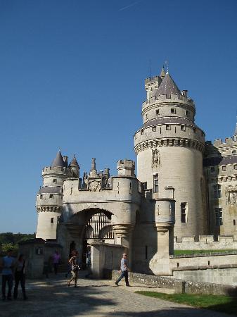 Chateau de Pierrefonds : l'entrée principale