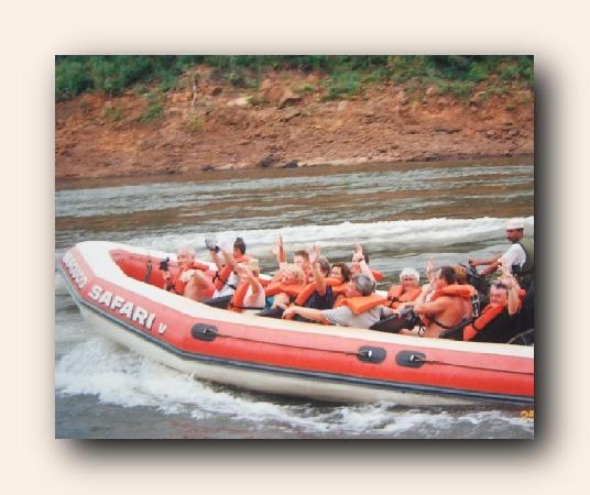 Foz do Iguacu, PR: 225-horsepower Zodiacs