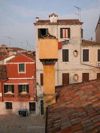 Ca' Fontanea: view from the roof terrace