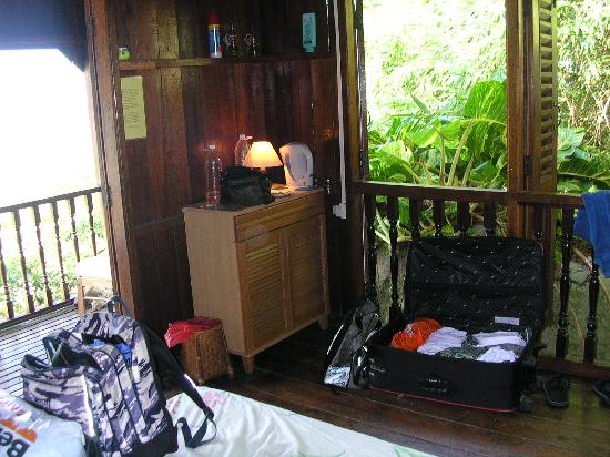 Bamboo Hill Chalets : Chalet interior