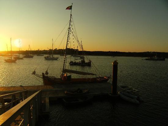Trigana Boat Trips: Trigana in Alvor harbour