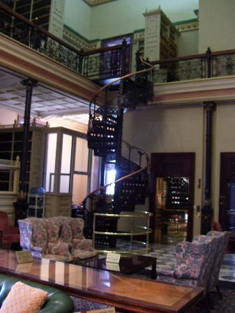 South Carolina State House A Spiral Staircase In What Was Once The Library But
