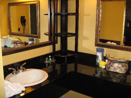 Baymont Inn & Suites Celebration: Vanity in Bathroom