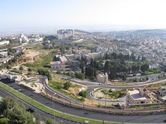 Nazareth Ilit Plaza Hotel : View of Nazareth from room