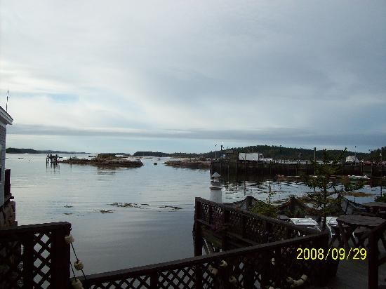 Inn on the Harbor: Our view from the room