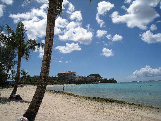 Guam, Mariany: playa