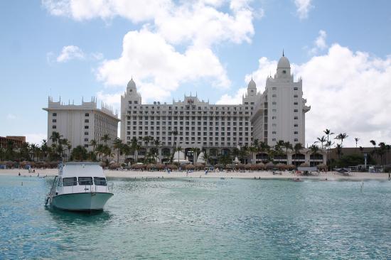 Hotel Riu Palace Aruba: Riu from Boat