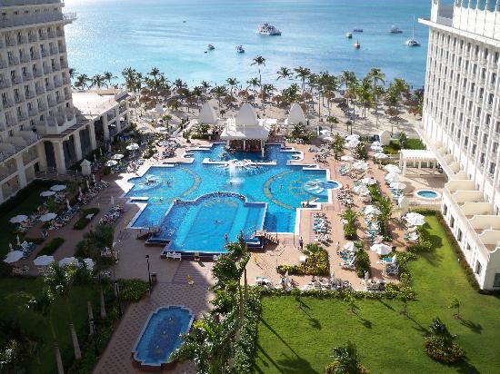 Hotel Riu Palace Aruba: View from room