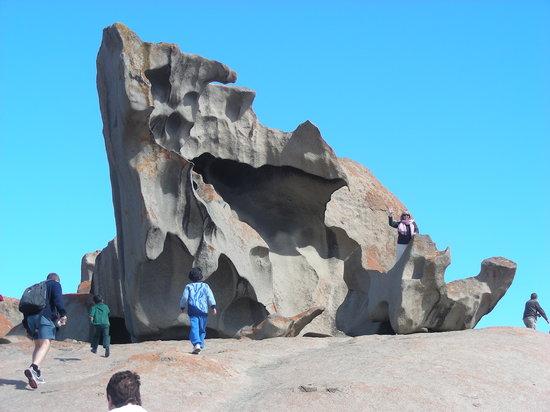 Adelaide, Australien: Remarkable Rocks, Kangaroo Island