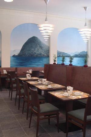 Hotel Pestalozzi Lugano: Restaurant
