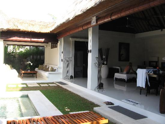 Andari Bali Villas: fantastic open air layout