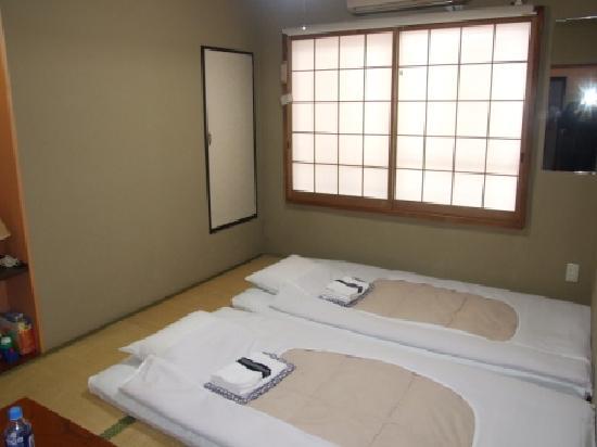 Ryokan Sawanoya: the room