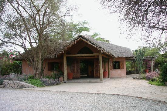 Kia Lodge – Kilimanjaro Airport : Kia Lodge Reception