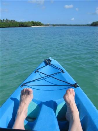 Eratap Beach Resort: The canoeing was great