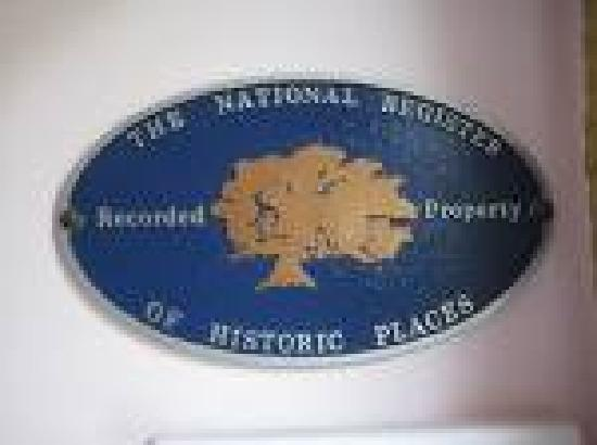 Richard Douglass House : National Register Plaque