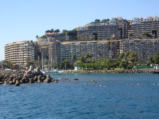 Anfi Beach Club: PUERTO ANFI FROM BOAT TAXI