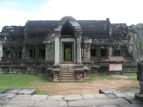 Siem Reap, Kambodja: Inside the inner building