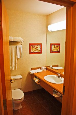 Holiday Inn Express Hotel & Suites Charlottetown: King Suite Bathroom
