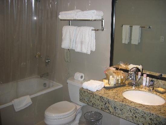 Radisson Hotel Decapolis Miraflores: bathroom