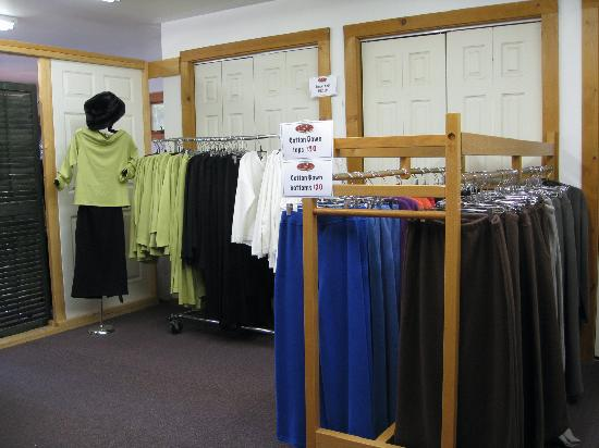 F.H. Clothing Co.: Sale area - upstairs
