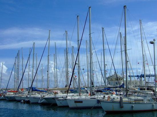 Hammamet (La Mahometa), Túnez: marina