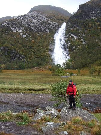 Steall Waterfall: View of Steall Falls.