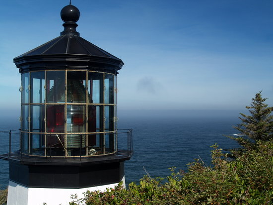 Oregon Coast, Oregón: Cape Meares Lighthouse
