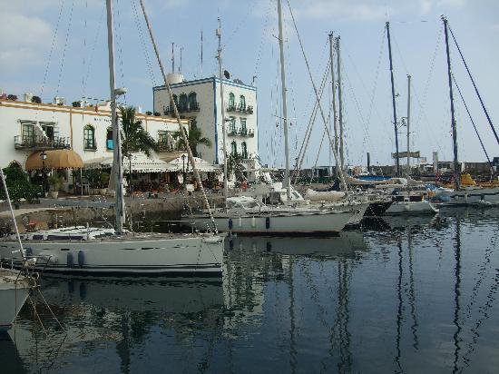 Mogan foto de puerto de mogan mogan tripadvisor - Pension eva puerto de mogan ...