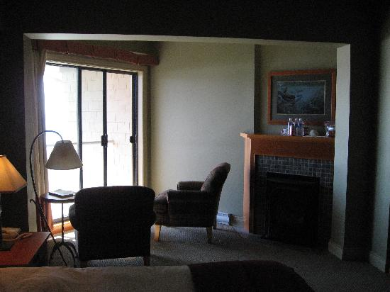 Long Beach Lodge Resort: view of our room