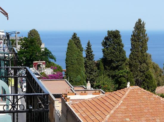 Elios Hotel : View from the balcony