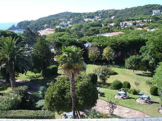 Hotel Alga : Hotel garden from room