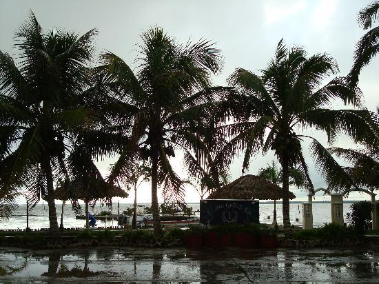 Tony's Inn & Beach Resort: Looking towards the bay from the hotel