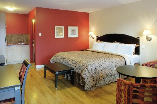 La Malbaie, Canada: Studio Grand-Luxe with a King size bed