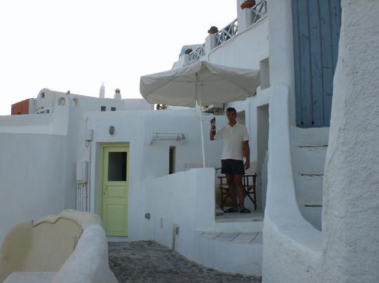 Old Oia Houses: lo studios dall'esterno