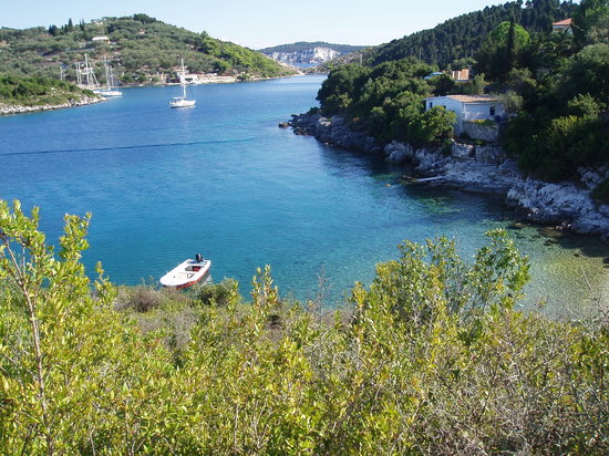 Lakka, Grèce : On a walk around the Island