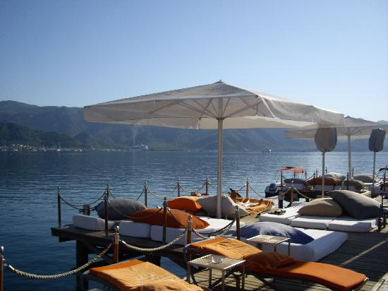 Elegance Hotels International, Marmaris : Jetty at Elegance Hotel