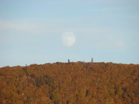 Keltic Quay Bayfront Lodge: Thanksgiving Moon