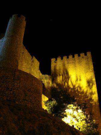 Obidos Village: Castle at night