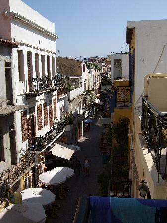 El Greco Hotel: View from the balcony