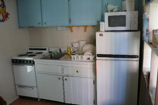Our Apartment Kitchen Picture Of La Mer Motel Lauderdale By