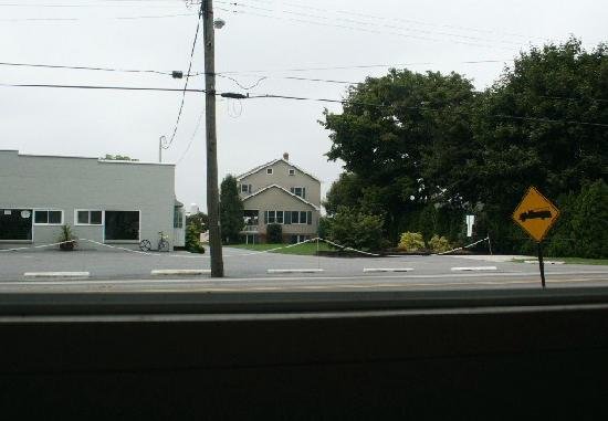 Flory's Cottages & Camping: View of Amish business across from cottage.