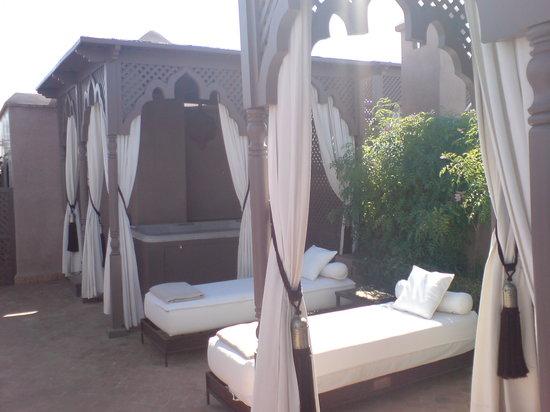 Riad Noir d'Ivoire: Chambre Panther: terrasse privée+jaccuzzi