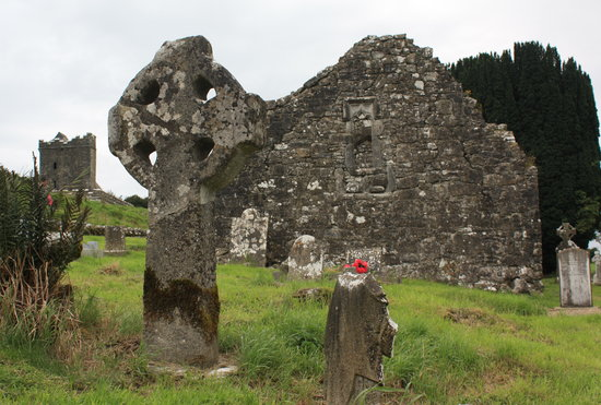 County Westmeath, Irlanda: Ireland: co. Meath - Fore: St Fechin's Church