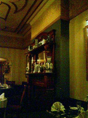 Regency Hotel: In the dining room