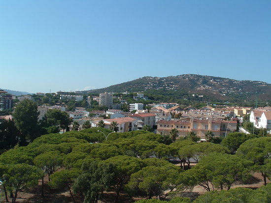 Platja d'Aro, Spain: View from our bedroom/balcony