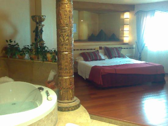 Motel Valle del Nilo: habitacion