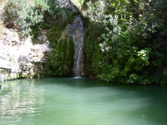 Adonis Baths Water Falls