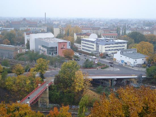 Citylight Hotel : Vista del hotel desde Humboltrain